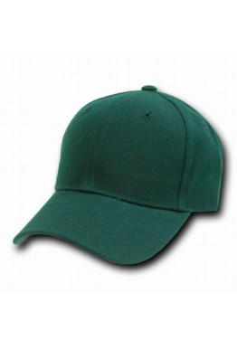 Forest Green Adjustable Baseball Cap